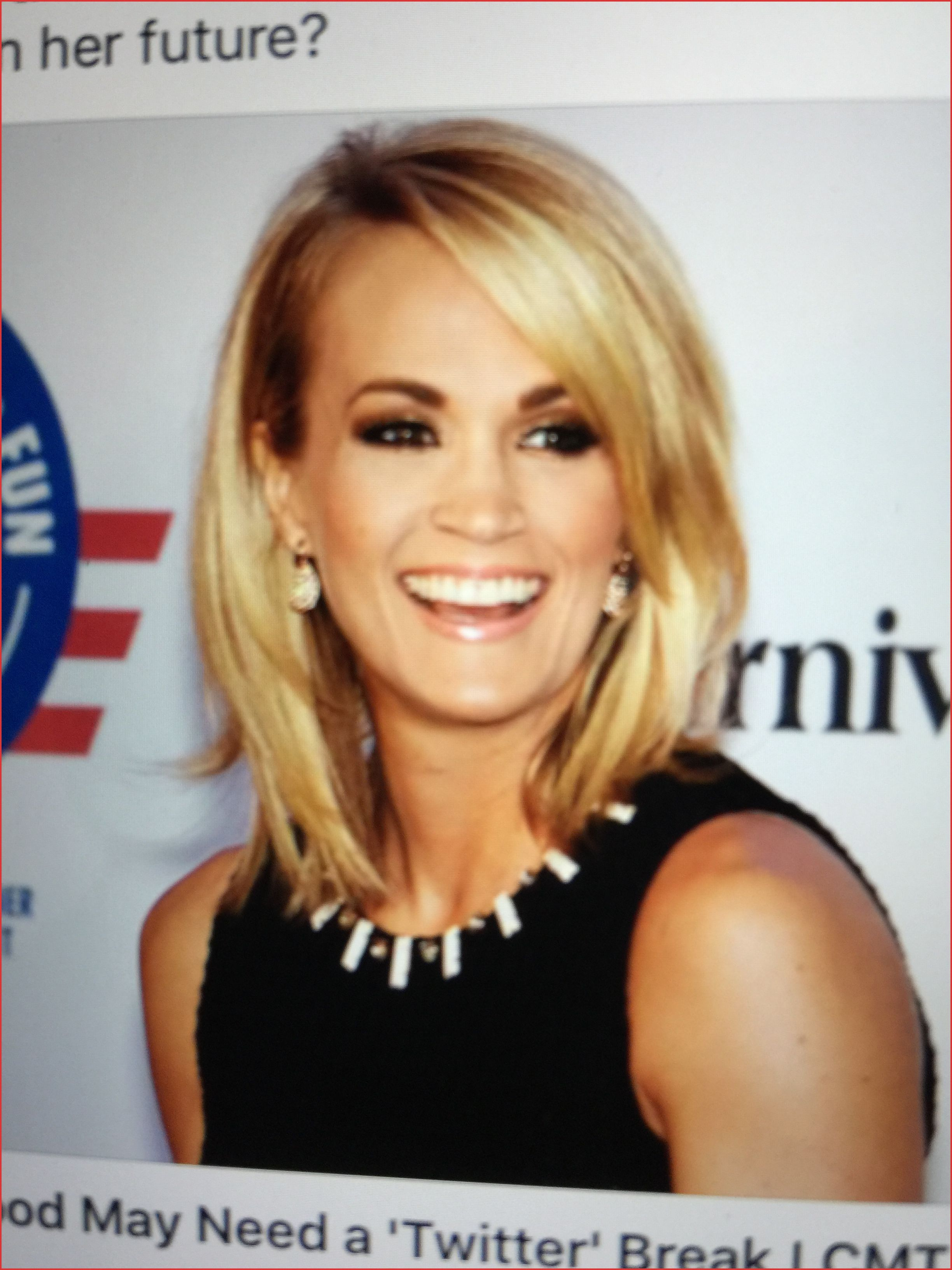Carrie Underwood Short Hairstyles 136328 Pin By Linda Mulroy On