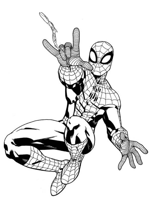 Pin On Spiderman Coloring Pages