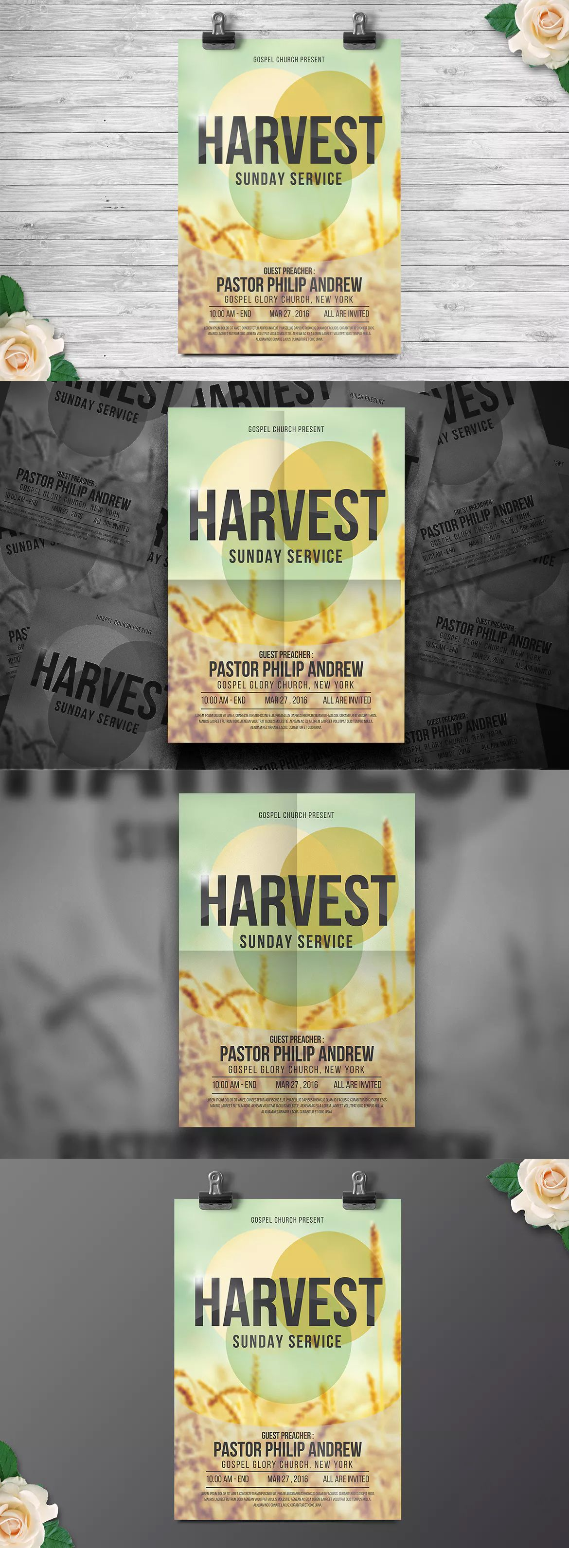 Church Gospel Flyer Template Ai Psd Flyer Templates Pinterest