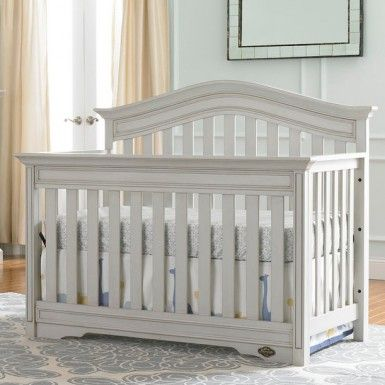Our Crib Westfield Lifestyle Crib In Linen Gray Cribs Baby