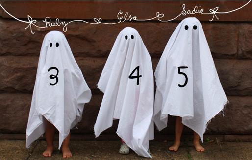 halloween birthday ghosts.