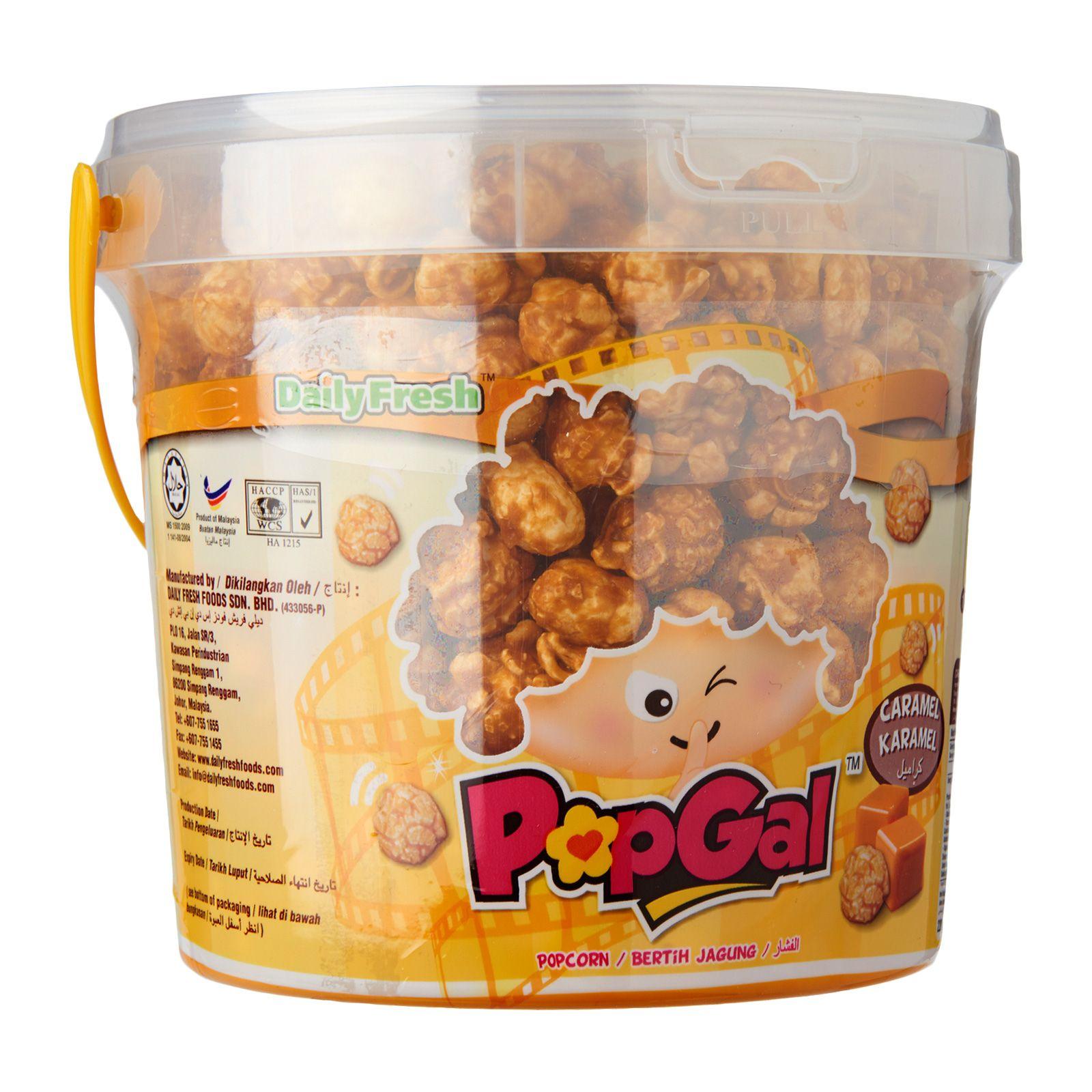 Popgal Caramel Flavored Popcorn Redmart Flavored Popcorn