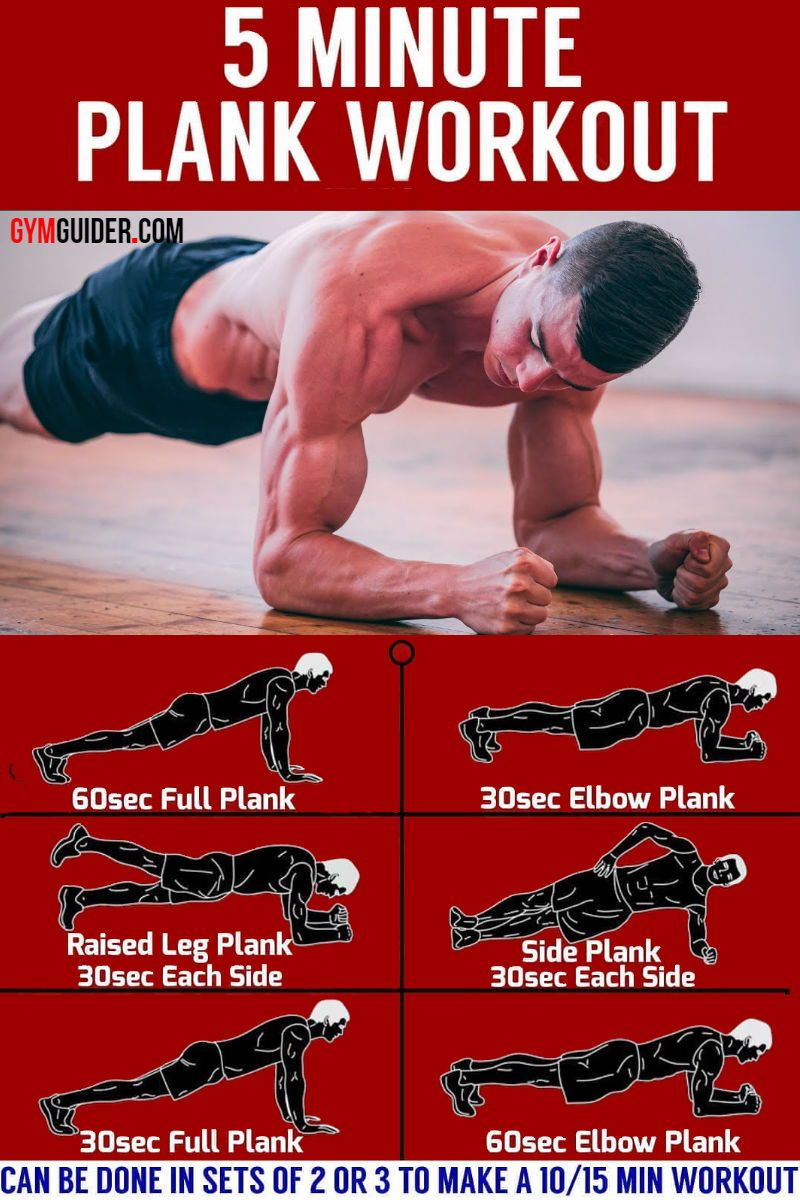 Do The 30-Day Plank Challenge Work your way up to the three-minute plank