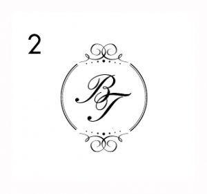Hochzeitslogos Und Monogramme Als Personliches Highlight Und Edler Akzent Hochzeitslogos Monogramm Hochzeit Einladungen Hochzeit