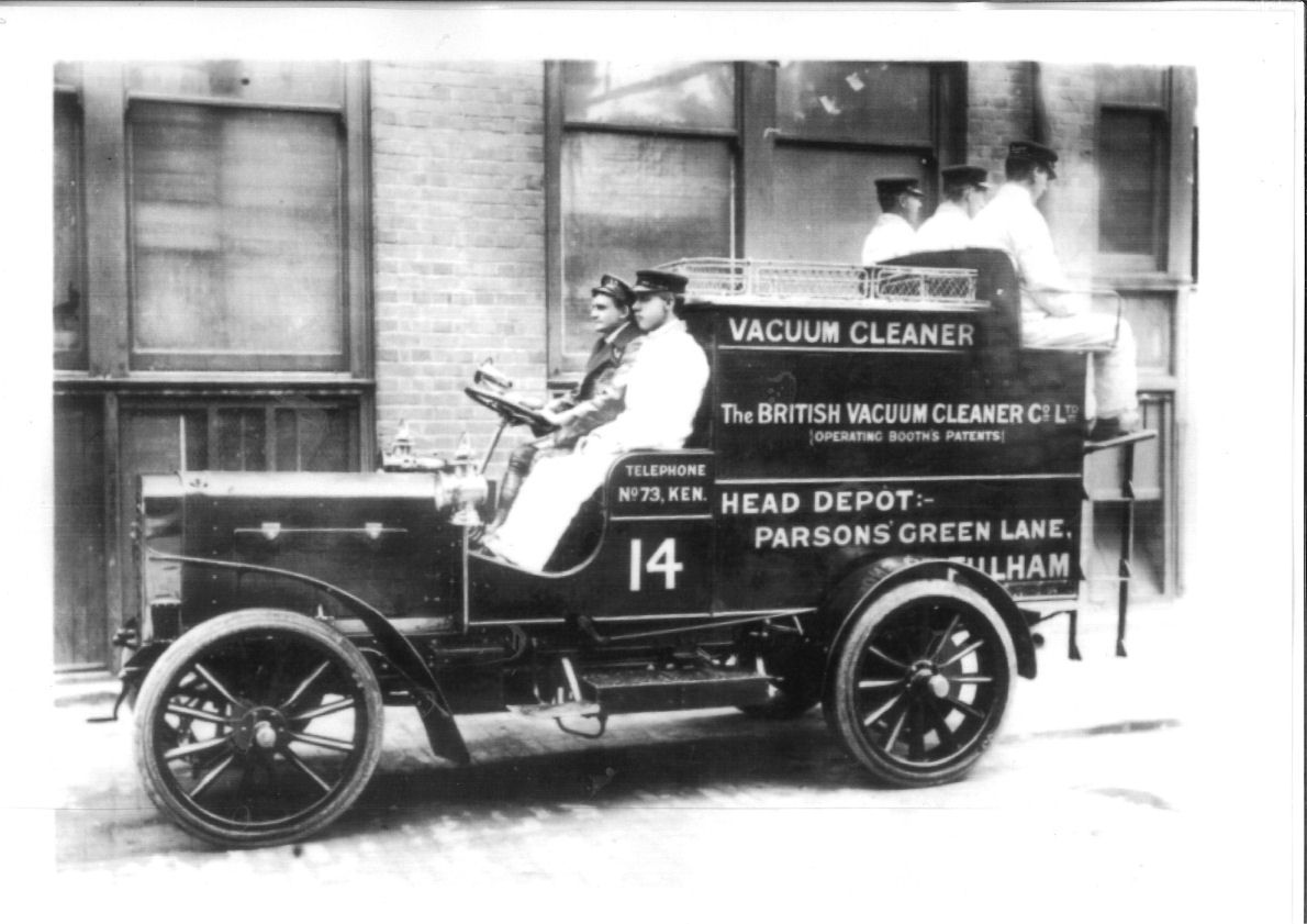 one of the first vacuum cleaner - first manual models became ...