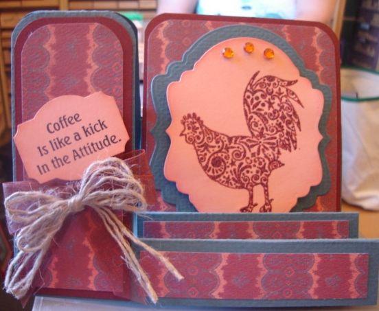 Door County Rubber Stamps   Rooster