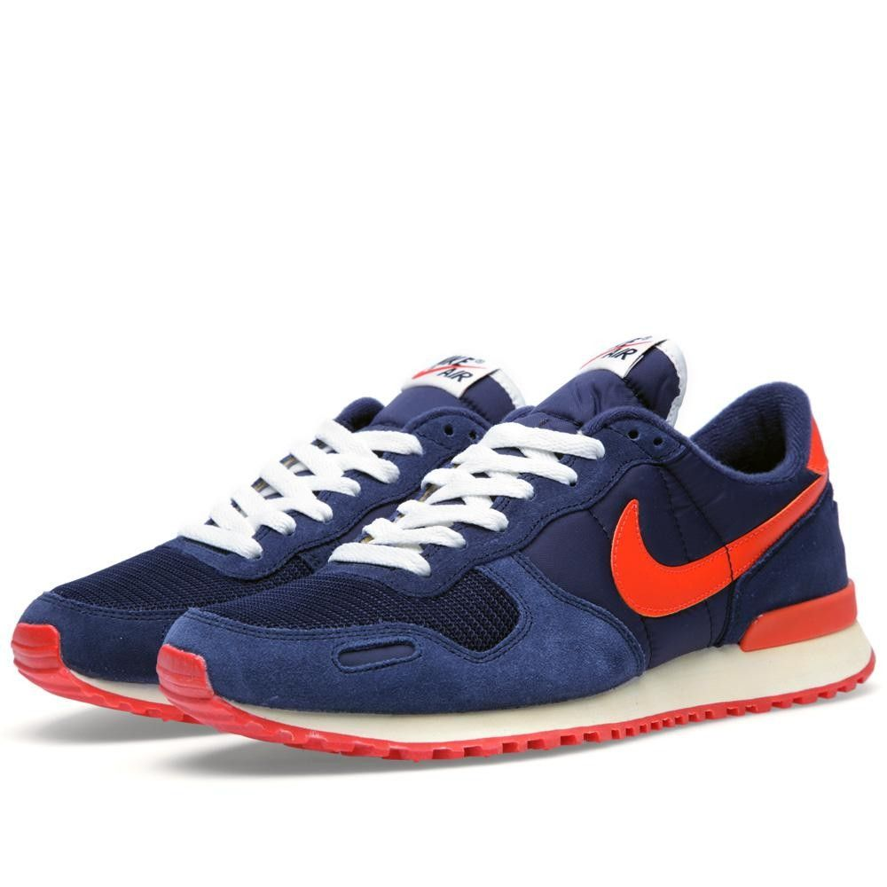 After returning in the Nike V-Series continues its reissue run with this  Spring 2013 colorway of the Air Vortex. The suede and mesh base is obsidian