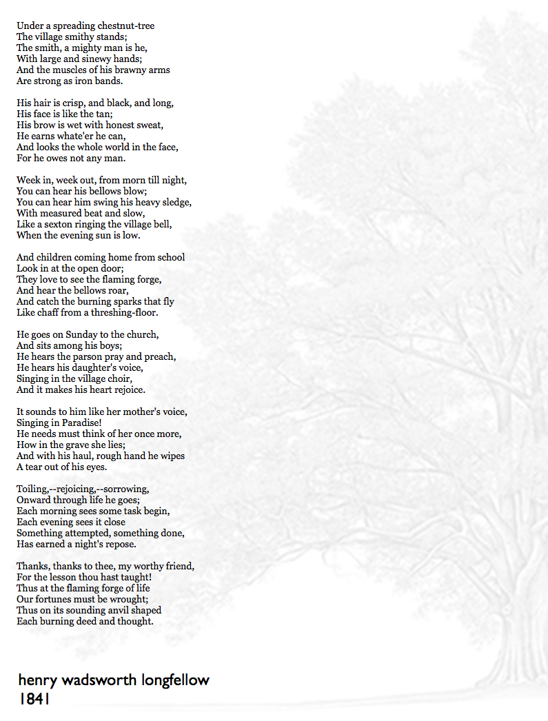a reflection on henry wadsworth s poem Quizlet provides term:paul revere's ride = henry wadsorth longfellow activities, flashcards and games start learning today for free.