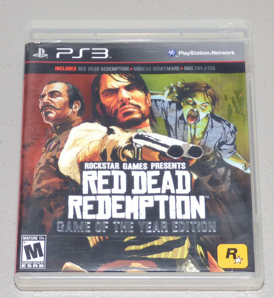 Red Dead Redemption Game Of The Year Edition Sony Playstation 3