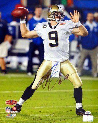 Amazon.com: Autographed Drew Brees Picture - 16x20 #11 - PSA/DNA Certified - Autographed NFL Photos: Collectibles & Fine Art