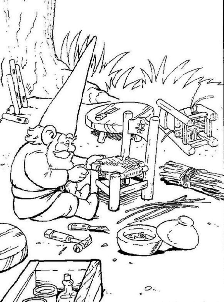 Gnome Coloring Pages David The Gnome Free Printable Coloring Pages Symbolicholdings