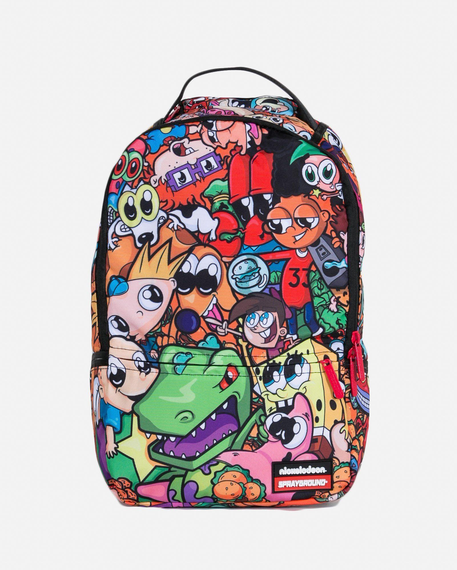 Sprayground anime 90s nickelodeon backpack