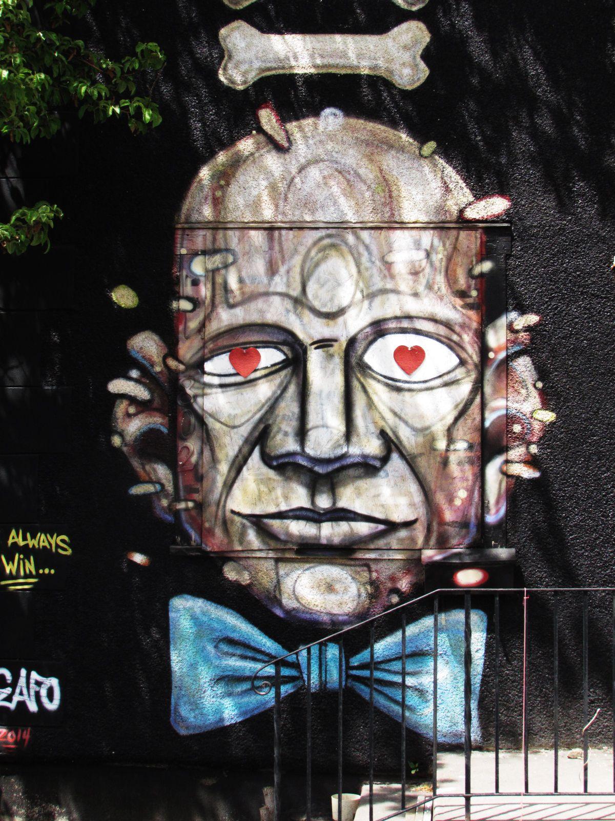 Graffiti wall calgary - Graffiti Mural In Sunnyside