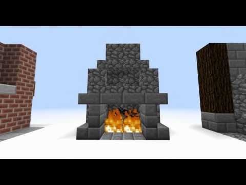Minecraft Interior Designs Episode 2 Living Room