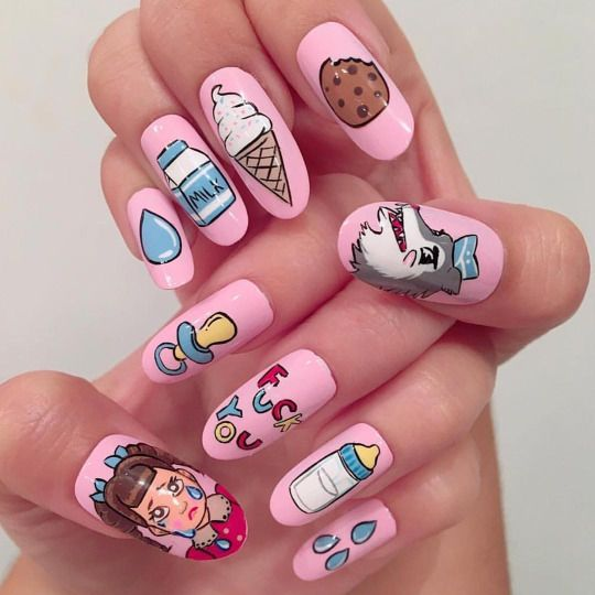I scream nails melbourne nail art nail art pinterest i scream nails melbourne nail art prinsesfo Image collections