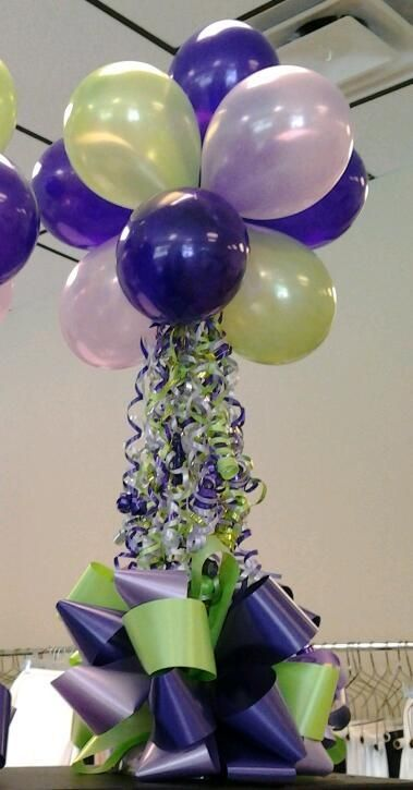 Balloon Centerpiece Base : Balloon centerpieces balloons pinterest