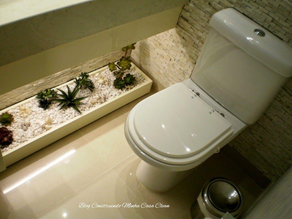 Banheiros E Lavabos Com Jardins De Inverno Quais Plantas Usar