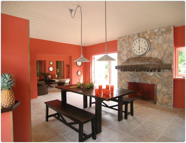 Interior Color Design Kitchen coral colors kitchen interior design | kozy kitchens | pinterest
