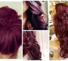 Colour Change From Blonde To Burgundy Lovely Vibrant Crazy Coloured Hair Blonde To Burgundy Burgundy Hair Wine Hair Color