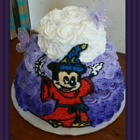 Fantasía Mickey Mouse Cake