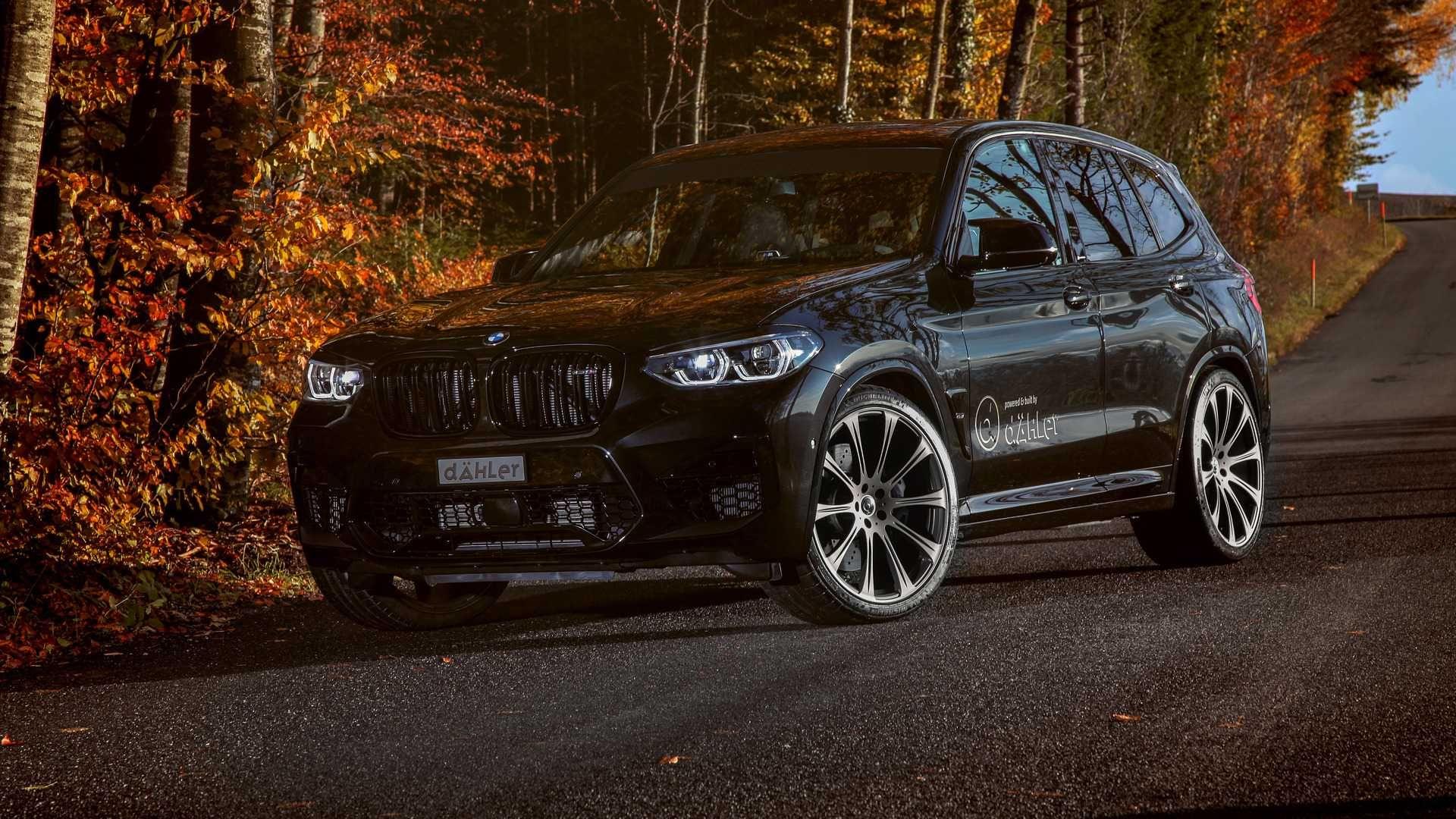 Dahler Take BMW X3 M And X4 M Up To 610 HP (449 kW) in