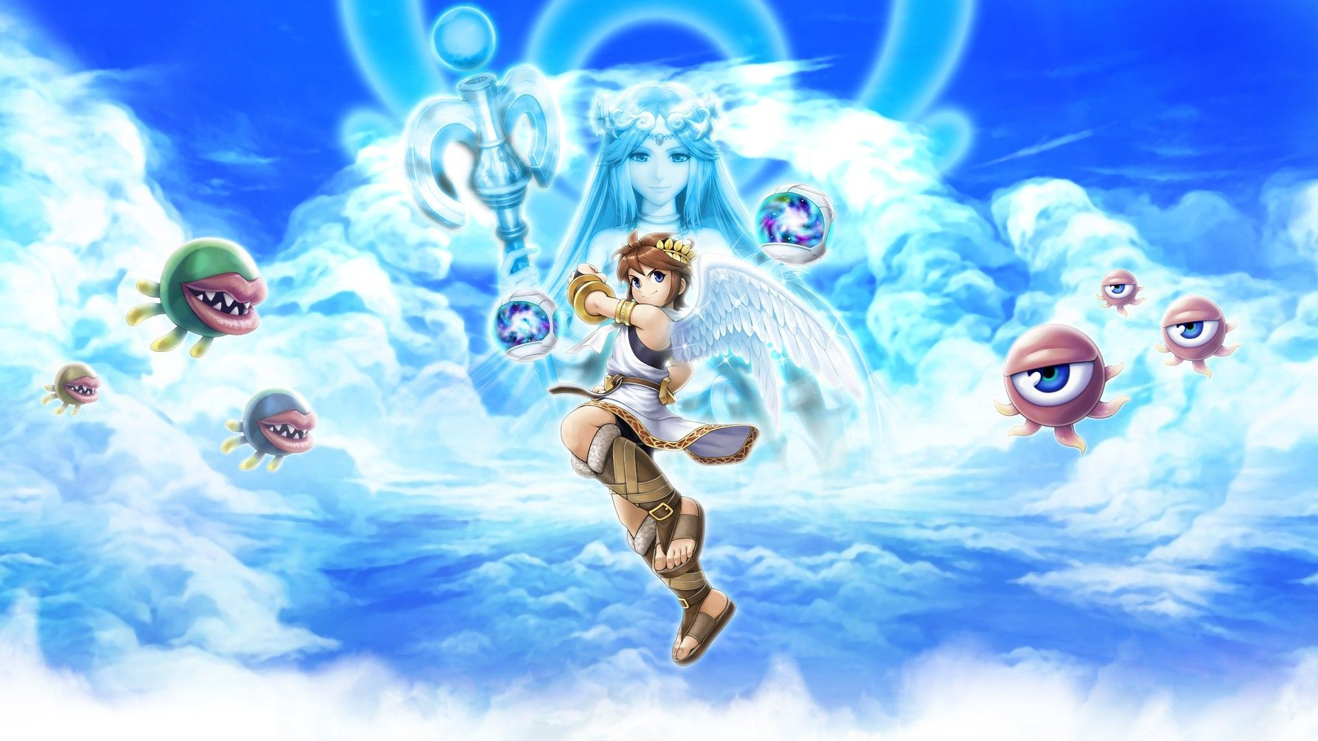 3 Kid Icarus Uprising Wallpapers Kid Icarus Uprising