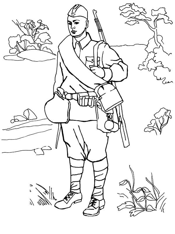 Pin Ot Polzovatelya פועה רוסמן Na Doske Army Coloring Pages Raskraski Illyustracii Detskie Tvorcheskie Proekty