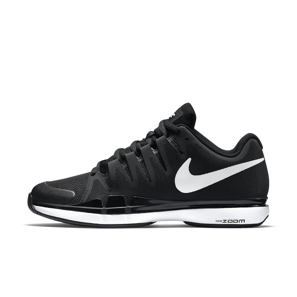cheap for discount e8474 3f799 Nike NikeCourt Zoom Vapor 9.5 Tour Men s Tennis Shoe Size 5.5 (Black)