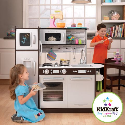Kidkraft Grand Espresso Corner Kitchen 53271 Sink Repair Uptown From (wish We Had Room ...