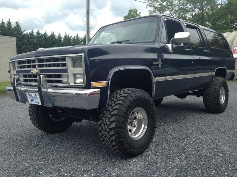 Blue 1987 Chevrolet Suburban 10 For Sale In Mount Crawford Virginia Vin 1gnev16k8hf170046 Chevrolet Suburban Chevy Suburban Chevrolet