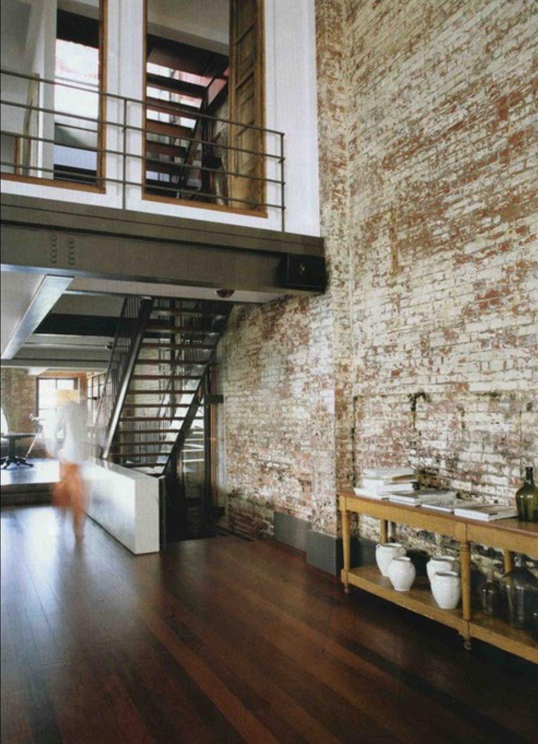 Facebrick Feature Wall Loft Inversion Industrial Design Modern Rustic Interior Design