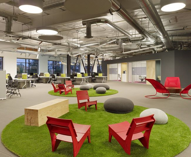 California Interior Design Schools Creative skype's hip californian headquarters give the feeling of relaxing