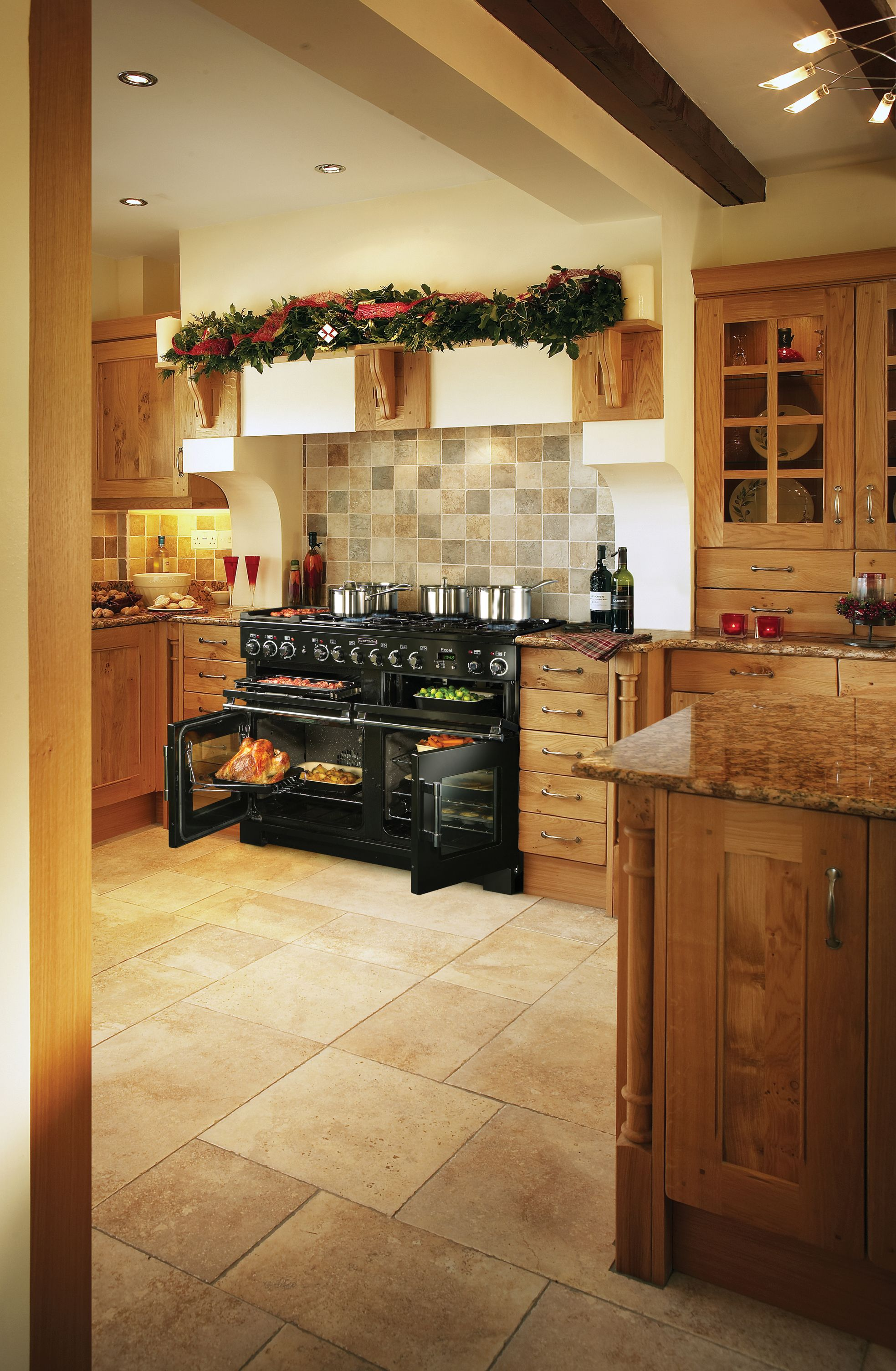 The first Rangemaster cooker to offer triple oven cooking. So, if ...
