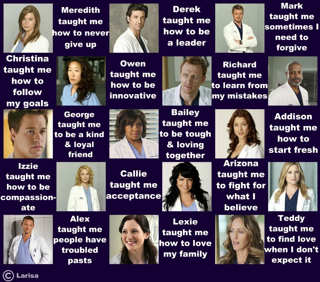 See you can learn things by watching TV | greys anatomy | Pinterest ...