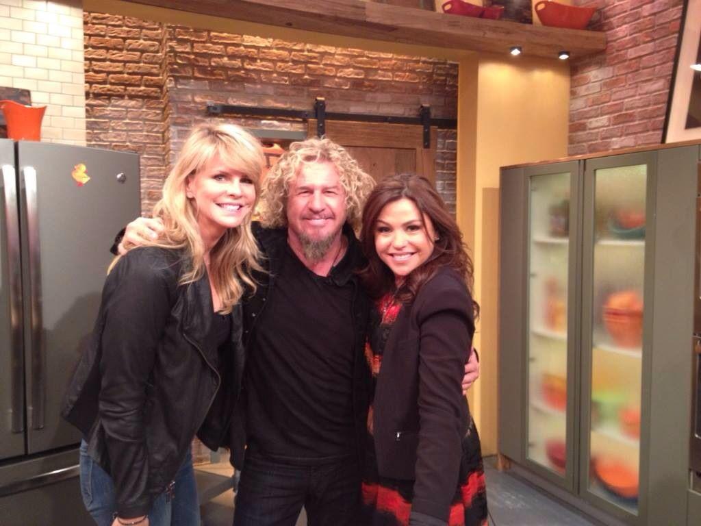 Sam Kari And Rachel Rae Sammy Hagar Red Rocker Singer