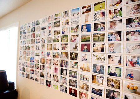 Easy And Cheap Diy Photo Wall Wall Collage Photo Displays