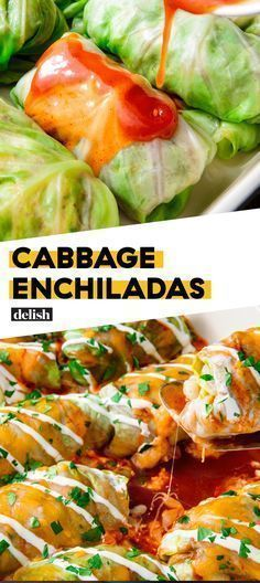 Low-Carb Cabbage Enchiladas Are The Guilt-Free DreamDelish   - Recipes to Cook -