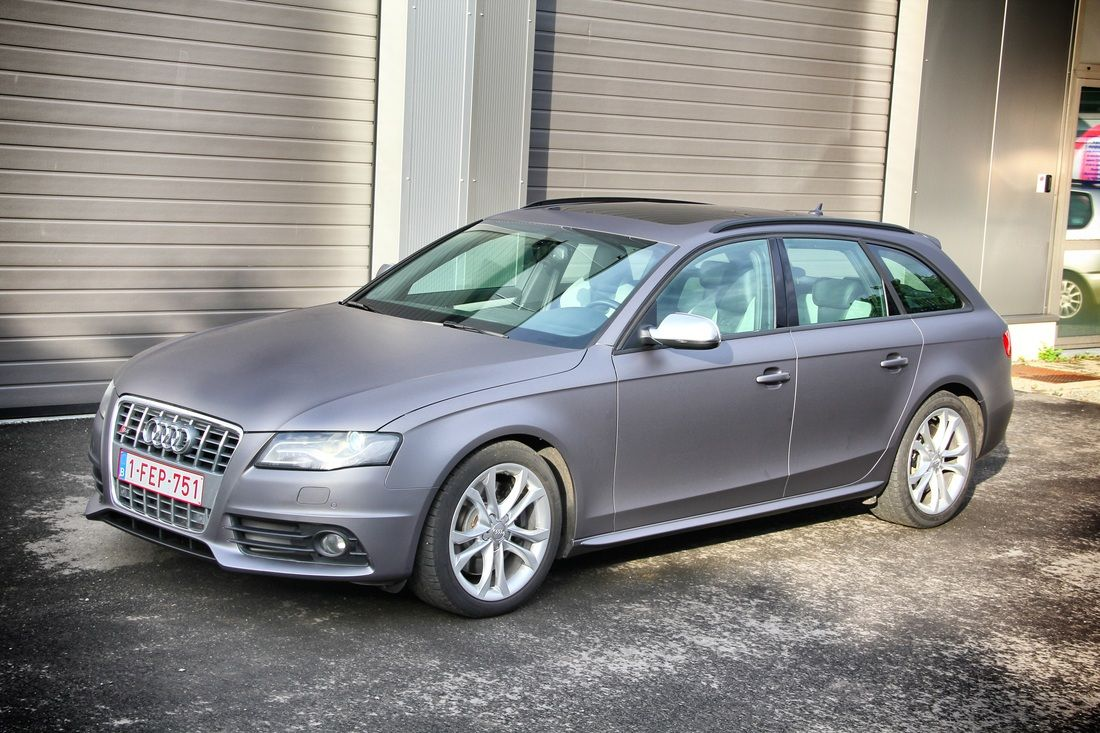 Find this pin and more on carwraps by signature wraps audi dark matte grey by stickysigns