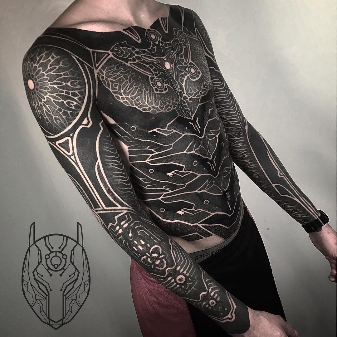 Tattoo Artis Tattoos Blackout Tattoo Blackout