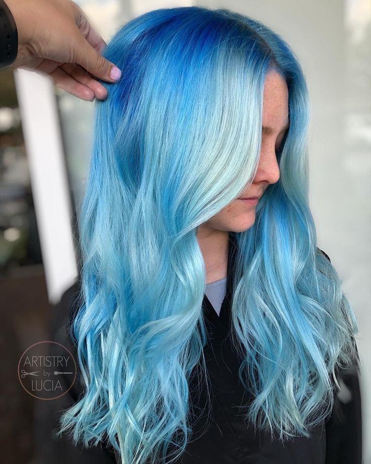 Arctic mist diluter arctic fox hair color blue ombre hair