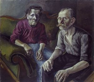 Portrait of parents