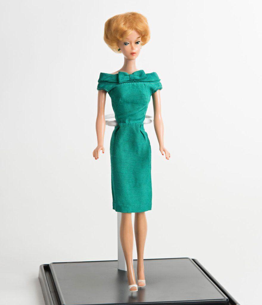f60f4f6f3c9 Barbie x Unique Vintage 1960s Style Green Sheath Dress in 2019 ...