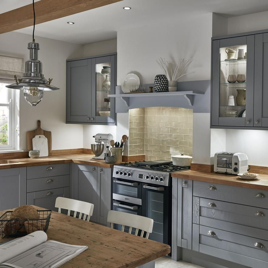 Best Howdens Fairford Dove Grey Google Search Open Plan 400 x 300
