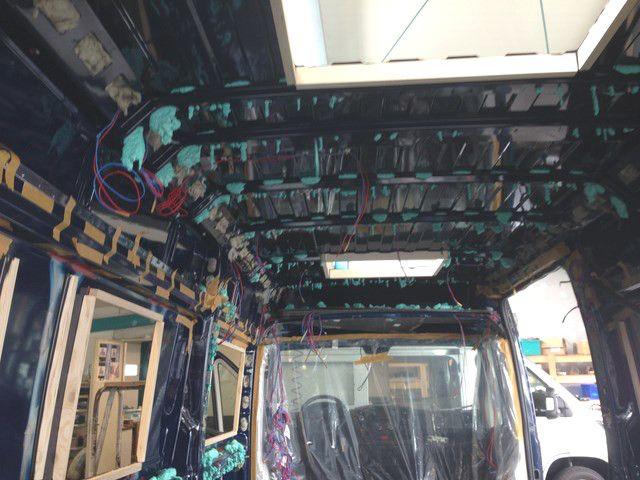 Dämmung Fußboden Wohnmobil ~ Kastenwagen holme isolierung schaum camper ausbau