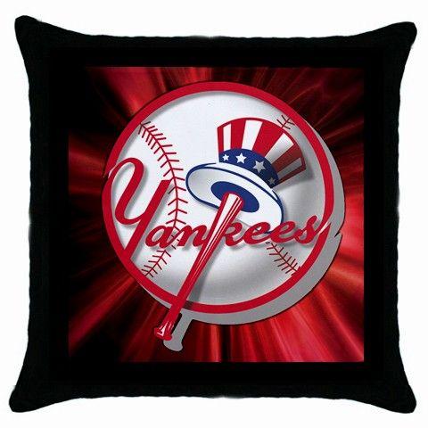 New York Yankees MLB Team Logo [Throw Pillow Case]