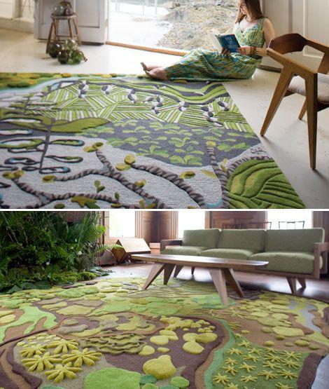 art on the floor