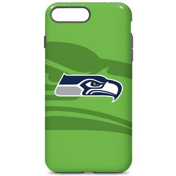 super popular f6155 bee46 Seattle Seahawks Double Vision iPhone 8 Plus Pro Case | NFL Double ...