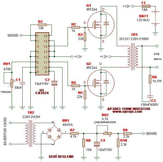 Inverter Voltage 24v to 220v of 7 Kw  Air conditioning
