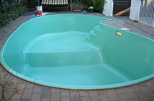 Microcemento en una piscina vaso de la pileta piscina personalizar nuestra pileta piscina - Cemento para piscinas ...