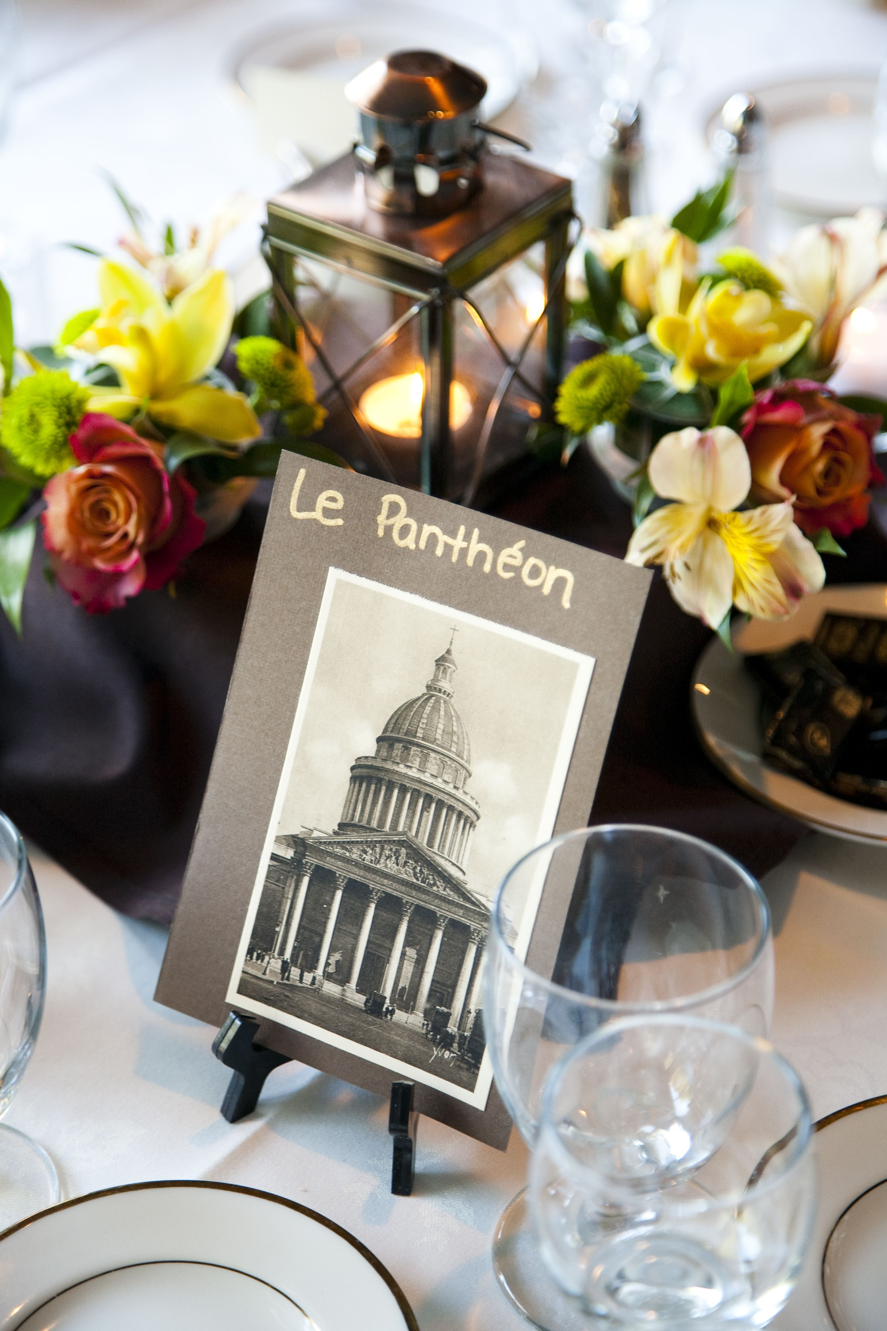 Travel Theme Wedding Ideas For More Like Using Vintage Postcards As Table Markers